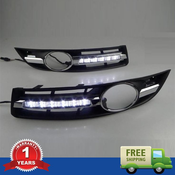 Car Styling For VW Passat B6 2006 2007 2008 2009 2010 2011 New LED DRL Daytime Running Light Waterproof With Wire Of Harness