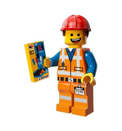 The Lego Movie Emmet Construction Worker Minifigure Series 71004 LEGO http://www.amazon.com/dp/B00HC1XK5W/ref=cm_sw_r_pi_dp_pnC1tb0JZ9981786