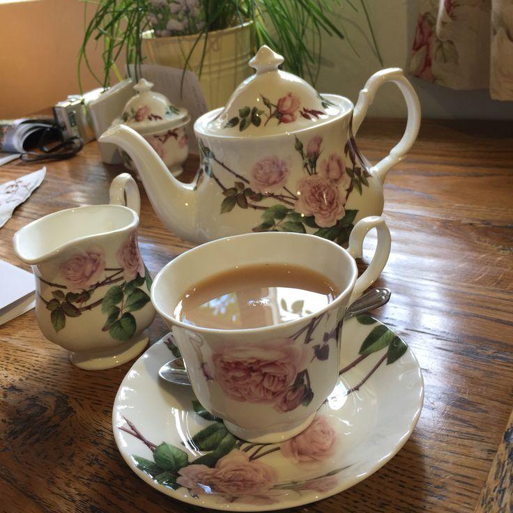Tea at David Austin