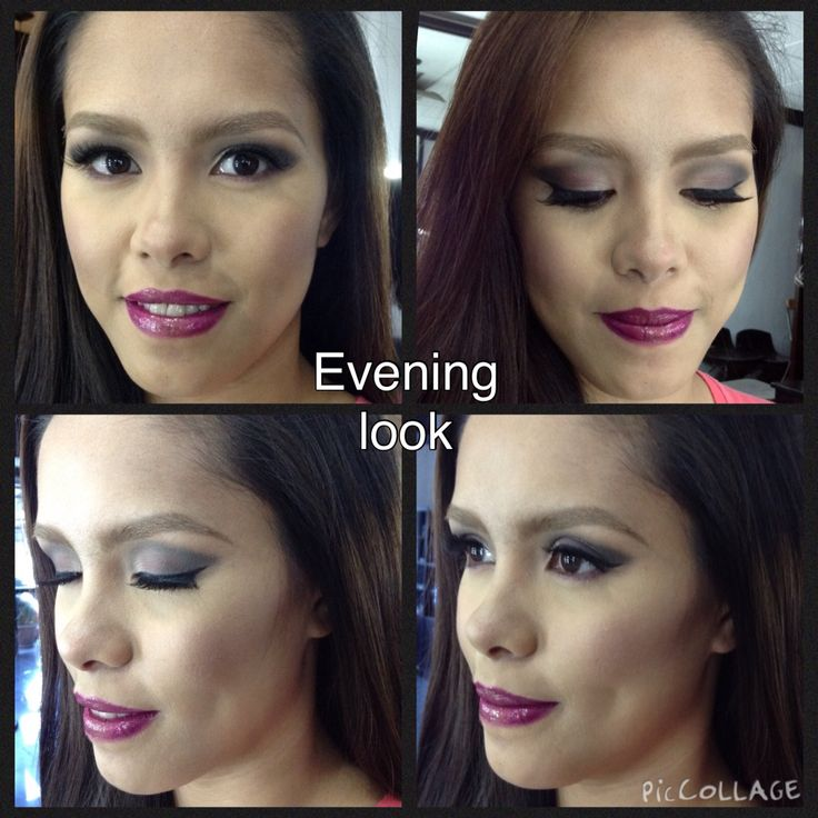 Sexy sultry date night makeup