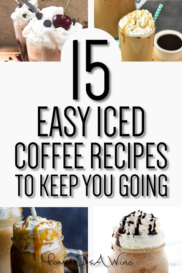 15 of the Best Iced Coffee Recipes   – Recipes