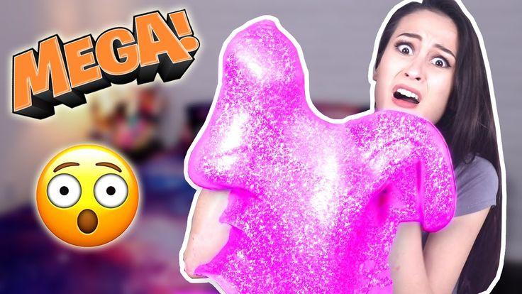 MEGA FLUFFY GLITTER SLIJM - DIY! || Science Saturday - YouTube