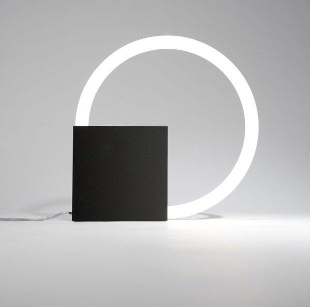 Cirkellamp by Aldo van den Nieuwelaar