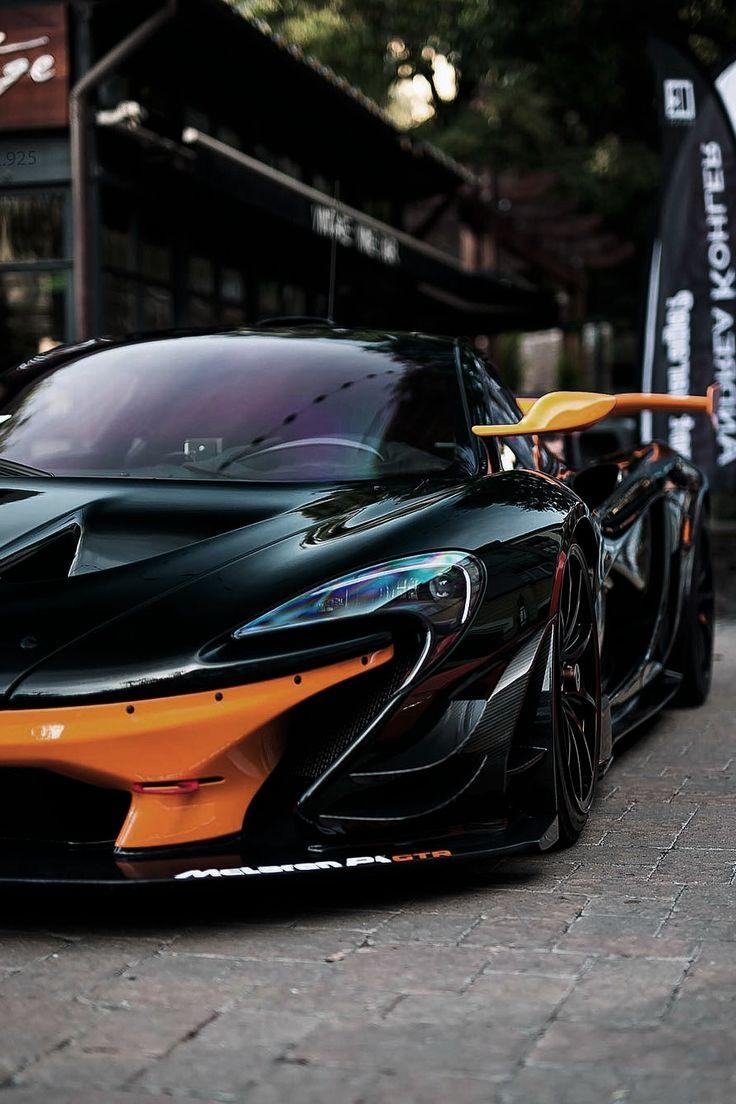 Attractive McLaren P1 GTR.