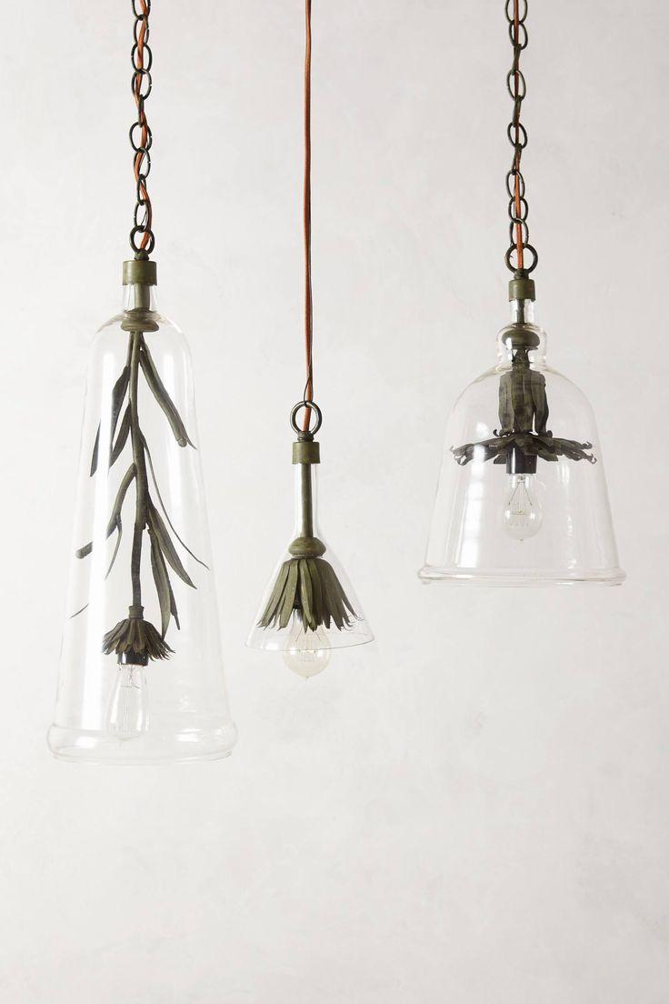 Iron Petals Pendant Lamp - anthropologie.com