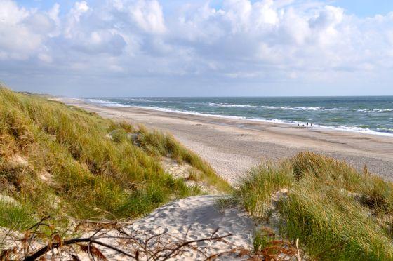 Strand West Jutland, Denemarken, foto STIJLIDEE