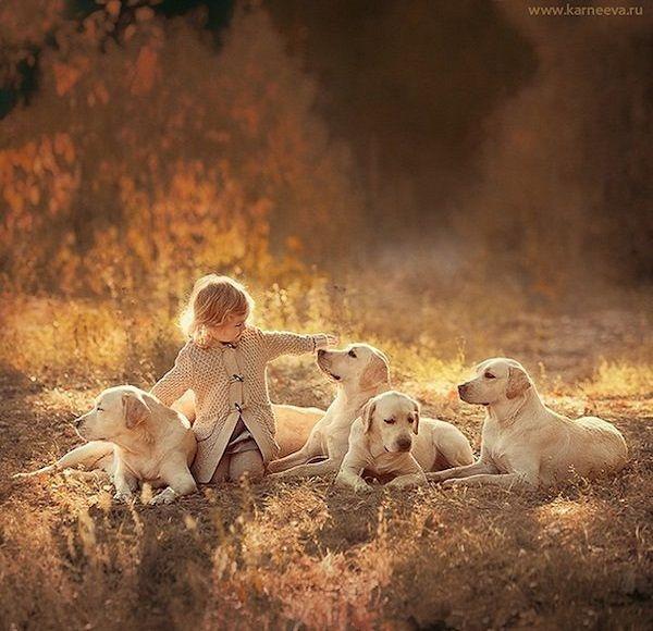 Photographer Captures Magical Moments Between Children And