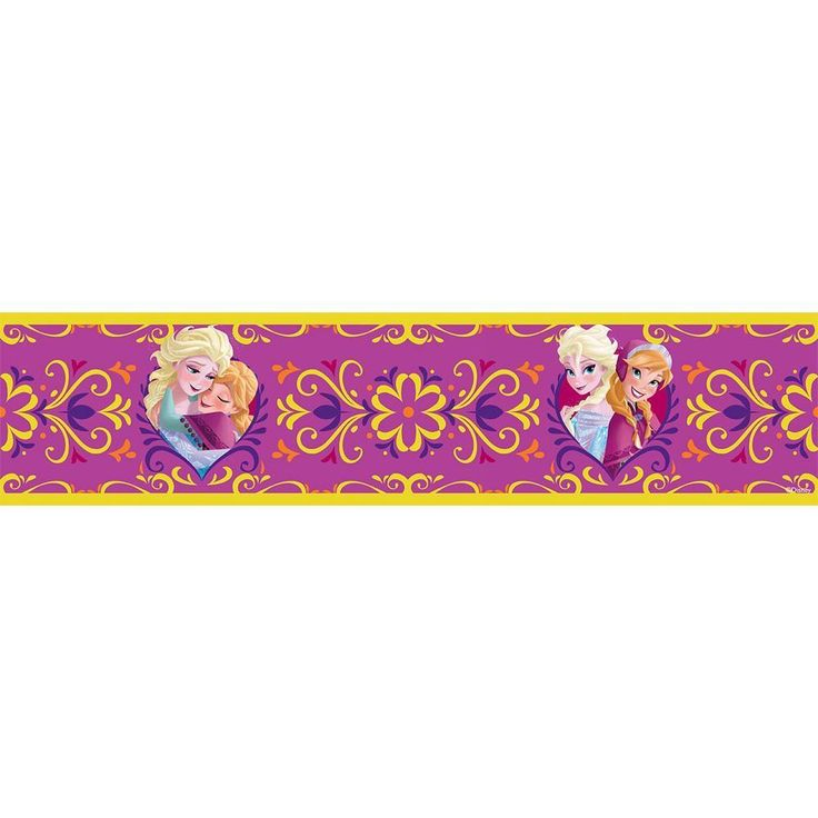 Disney Frozen Elsa & Anna 5M Wallpaper Borders Kids