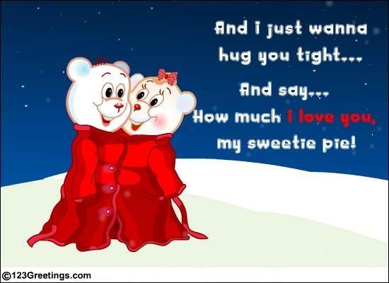 Send A Tight #Hug! #love
