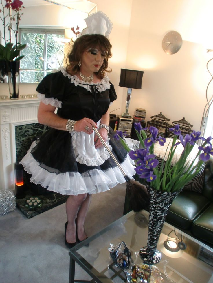 Transvestite male maids
