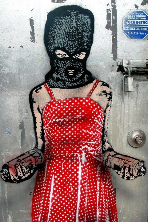 Street Artist: Nick Walker in NYC