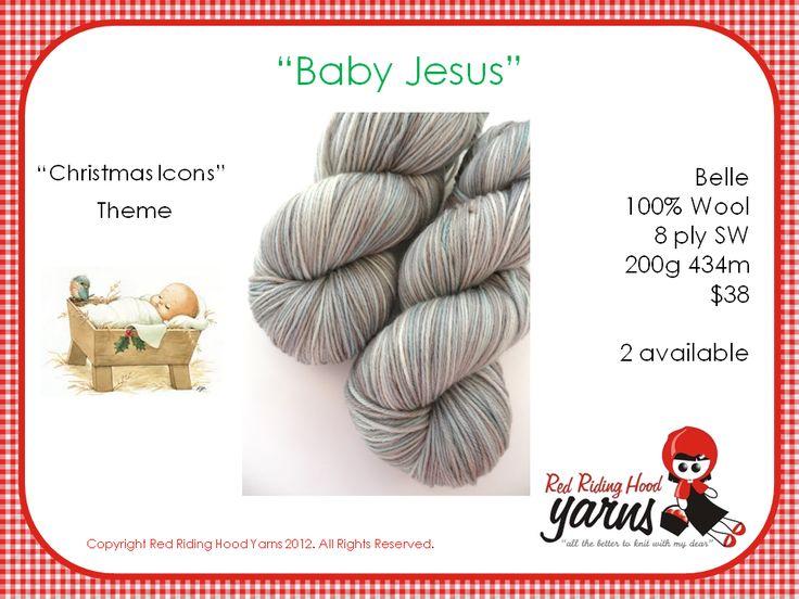 Baby Jesus - Christmas Icons | Red Riding Hood Yarns