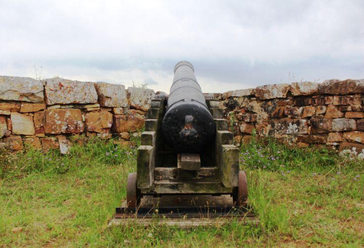 Cannon at the 1820's Settler's Monument in Grahamstown. Photo: Megan Whittington
