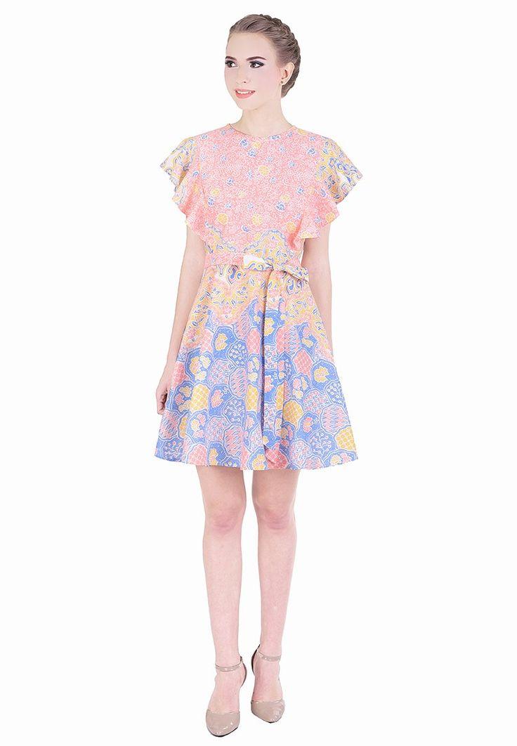 Dian Ruffle Batik Dress_2
