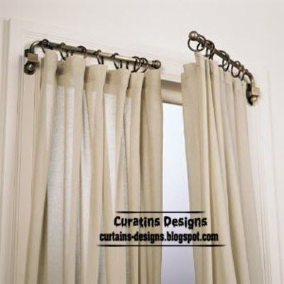 Good 96 Best Ways To Hang Curtains Images On Pinterest | Curtain Valances,  Curtains And Kitchen Curtains