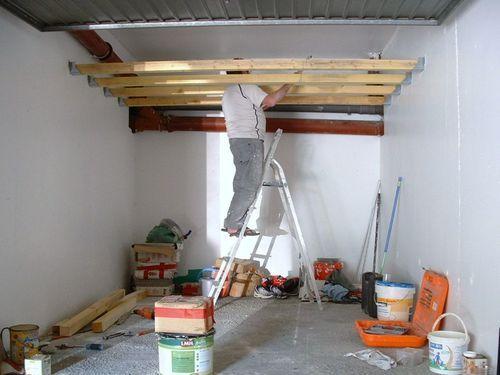 transformer son garage en pi ce vivre garage piece a. Black Bedroom Furniture Sets. Home Design Ideas