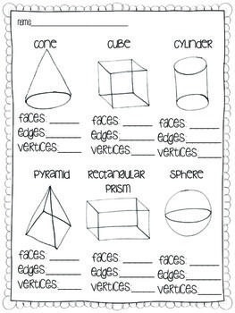 25 best ideas about solid shapes on pinterest mathematical shapes shapes worksheets and 3d. Black Bedroom Furniture Sets. Home Design Ideas