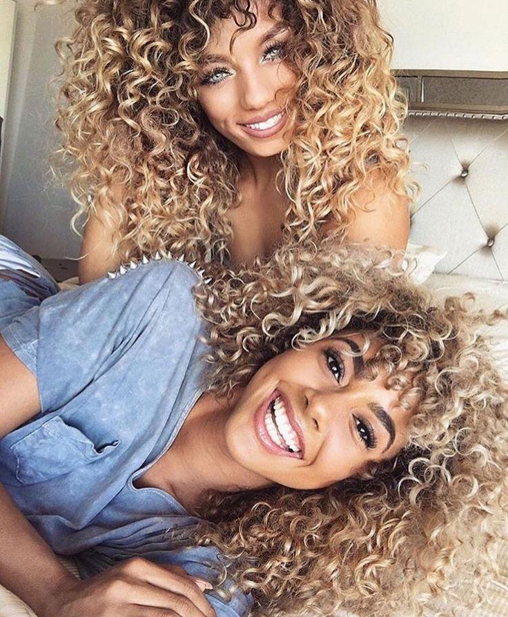 Curly Blonde Amateur Milf
