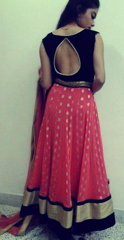 Anarkali by Ayush Kejriwal the back