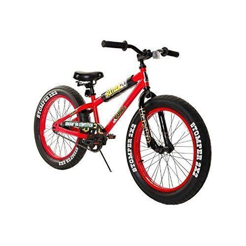 NEW Bike Bicycle Fat Tire 20'' Birthday Gift For Boys Outdoor Sports Riding Red  #Dynacraft