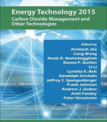 Energy Technology 2015: Carbon Dioxide Management And Other Technologies PDF #Energytechnology