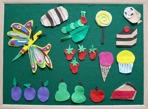 Felt boards are one of our most used toys at home! We use them often for retelling stories, making up our own stories, or building designs with little felt shapes. Making your own felt board is very easy and inexpensive. You can do it in about 15 minutes and need only a few supplies. Here's how we made ours!