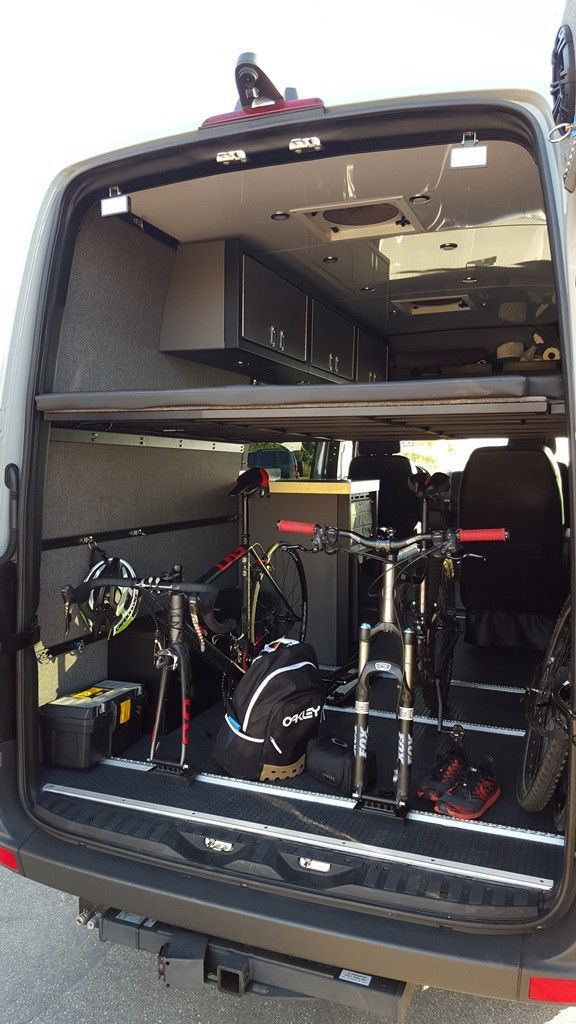 Camping sprinter van by #rbcomponents, BL55 MTB Adventure Van 144