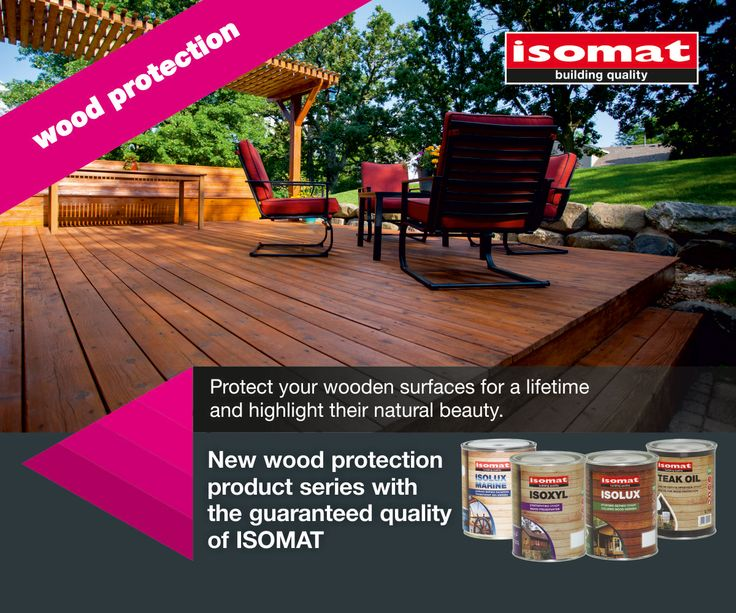 Protect your wooden surfaces and bring out their natural beauty! ISOMAT's new wood protection products offer supreme and long-lasting protection against woodworm, fungi, blue stains and other harmful microorganisms. Their special composition extends the lifespan of your wood, brings out its natural beauty, and protects it from harsh weather conditions, aging and UV radiation. Discover ISOMAT's wood protection product seriesand help preserve and refresh your wooden constructions for a…
