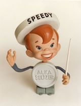 Speedy Alka Seltzer.... I remember seeing this ad in a old Life magazine at the library... Wow!