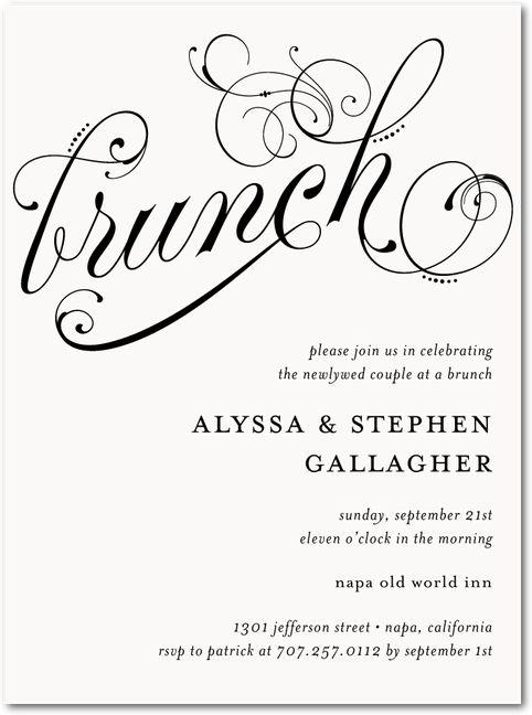 best 25+ brunch invitations ideas on pinterest | shower invitation, Wedding invitations