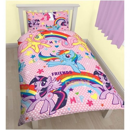 My Little Pony My Little Pony Single Reversible Doona Cover Set. Check it out!