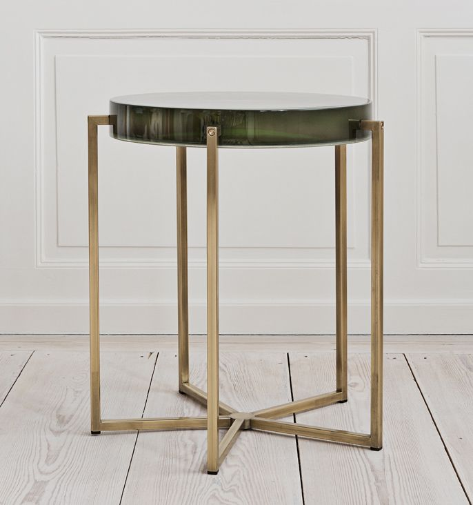 *Coffee Tables, Materials Things, Tables Talk, Mccollin Bryans, Acrylics, Furniture, Lens Tables, United Kingdom, Brass Side Tables