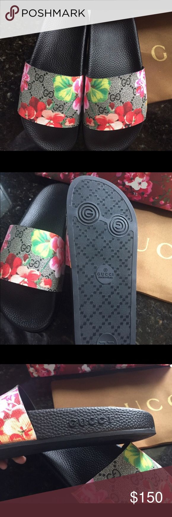 Gucci slides Re posh (price reflects) Gucci Shoes Sandals