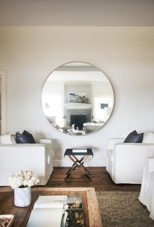 M s de 25 ideas incre bles sobre espejos redondos en for Espejos redondos salon