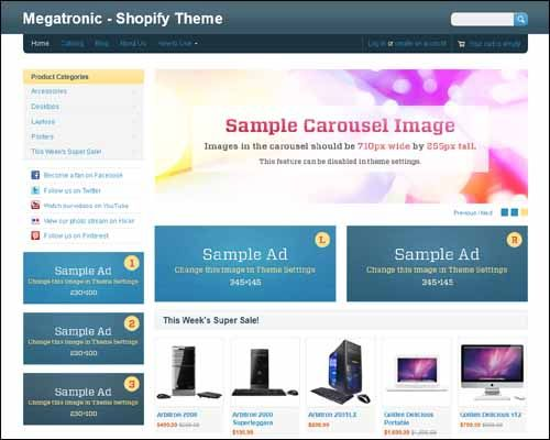 20+ Admirable Free Shopify Themes That Focus on Selling Products