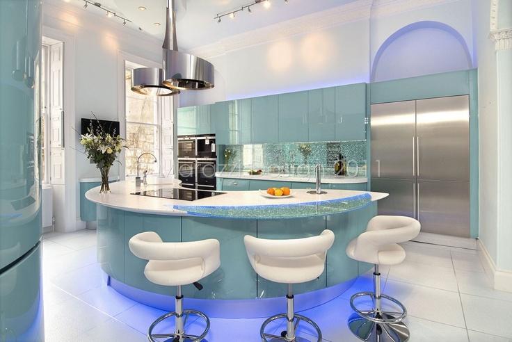 Marazzi kitchens - gorgeous colour