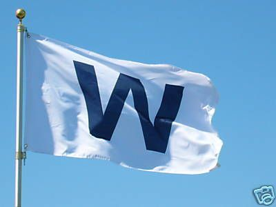 Chicago Cubs 3' x 5' 'W' Banner Flag by ThirtyFive55 | Sports World Chicago $24.95