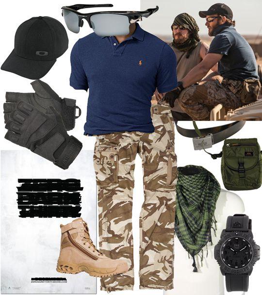 Zero Dark Thirty-Joel Edgerton. Love them navySEALS outfits.
