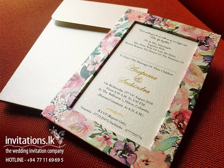 Wedding Invitations Cards Sri Lanka Wedding Invitation Cards Wedding Invitations Invitations