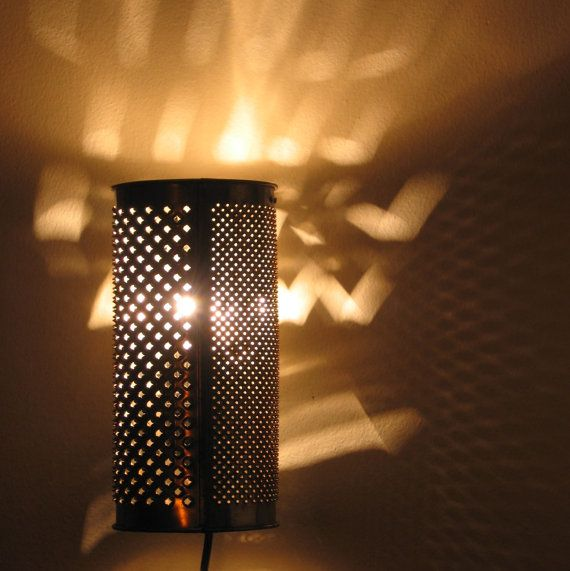 Ambi the Hedgehog grater sconce or table lamp by 4FLighting, $65.00