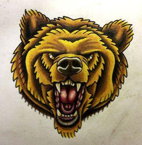 traditional bear tattoo - Cerca con Google