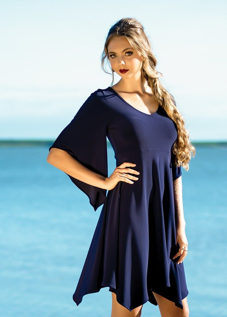 Europa Lily Dress in Solid Colours