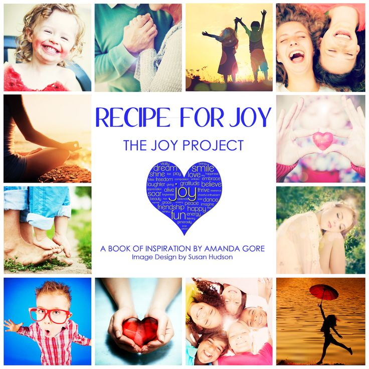 NEW eBOOK!  Recipe For Joy.  (http://amandagore.mybigcommerce.com/recipe-for-joy/)