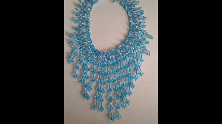collier bleu turquoise