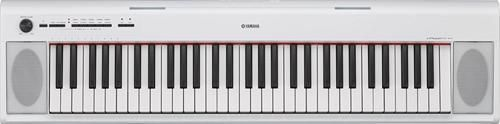 Yamaha Piaggero NP-12 Ultra-Portable Digital Piano (White)