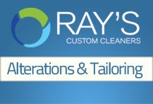 Board Cover - Ray's Custom Cleaners Alterations and Tailoring Board