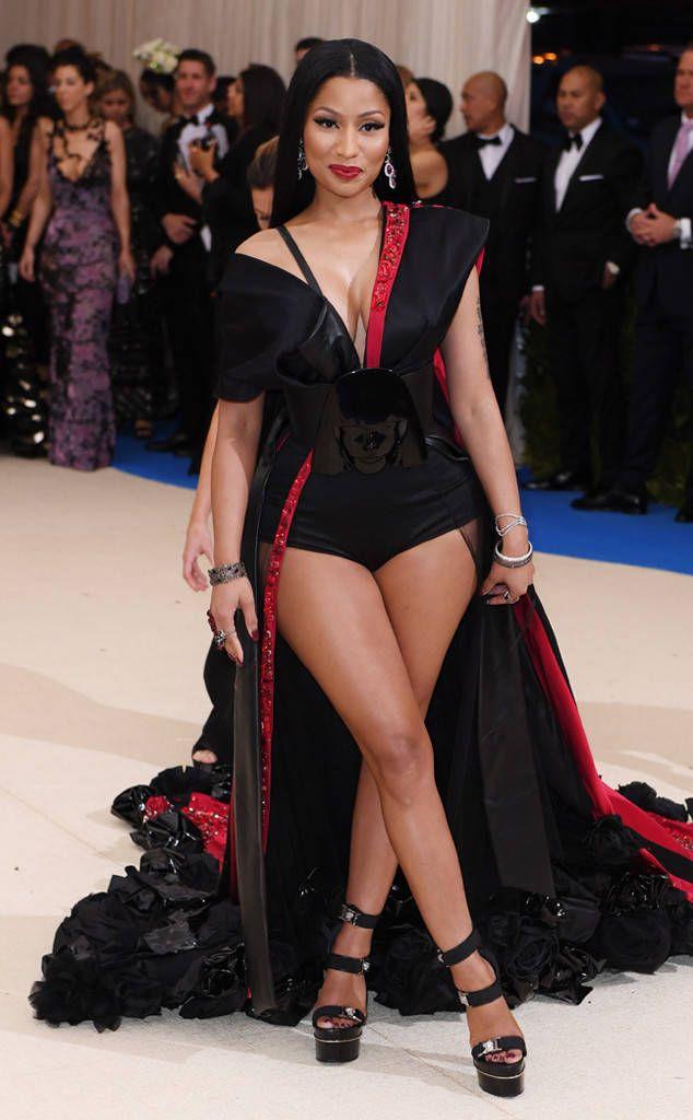 Nicki Minaj from 2017 Met Gala: Red Carpet Arrivals