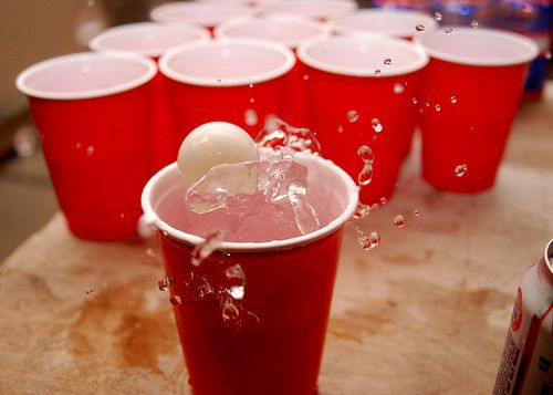 funnypartygames.com #beerpong