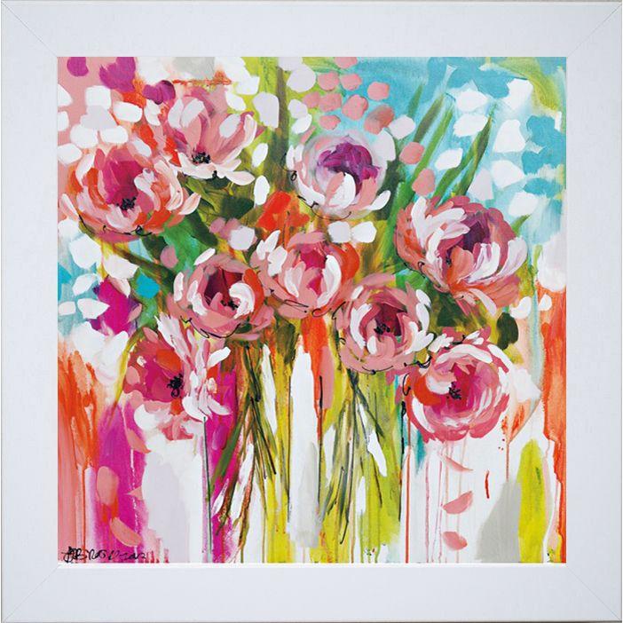Artist amanda j brooks title · floral paintingspainting prints art printsframed
