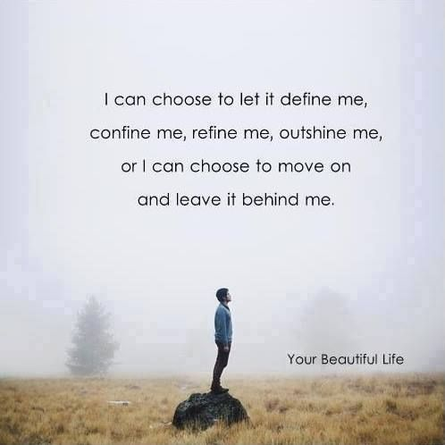 leave it all behind....